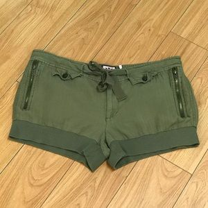 Juicy Couture army green shorts